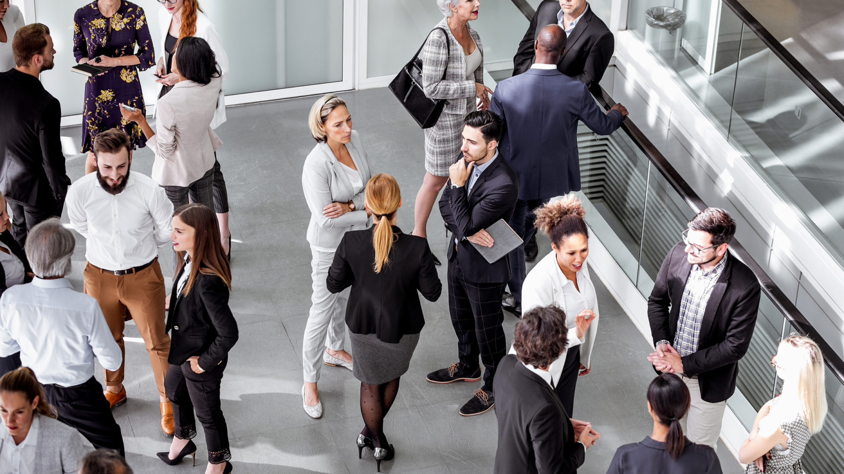 Business People at a Conference Event